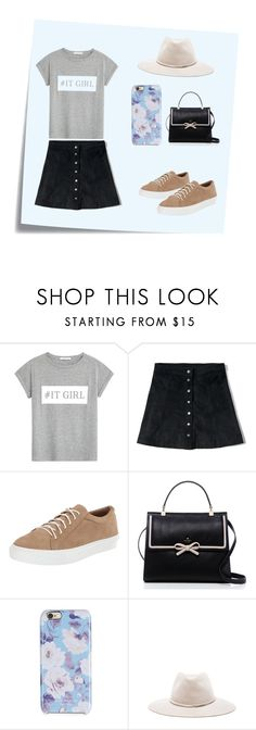 """""""#itgirl"""" by pink1dmz ❤ liked on Polyvore featuring moda, Post-It, MANGO, Abercrombie & Fitch, Bettye Muller, Kate Spade, Isaac Mizrahi y rag & bone"""