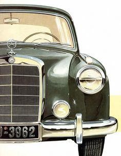 Mercedes-Benz 'Ponton' 220a #NobleandRoyal