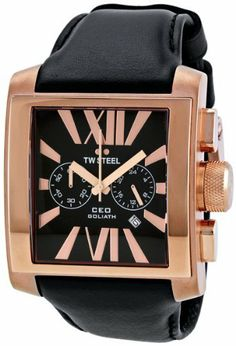 TW Steel CEO Goliath Rose- Gold Chronograph 42MM Mens Watch CE3012 TW Steel. Save 56 Off!. $307.74. Approx. band length: 210mm. Buckle closure. band width: 30mm