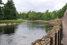 Crathes Castle and the River Dee from Banchory (Walkhighlands)