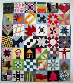 Block Lotto Community Quilt - Make a block or two, post, hope to win enough to make a quilt.