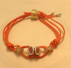 Have fun creating a bracelet with our colorful cords. Perfect for summer!