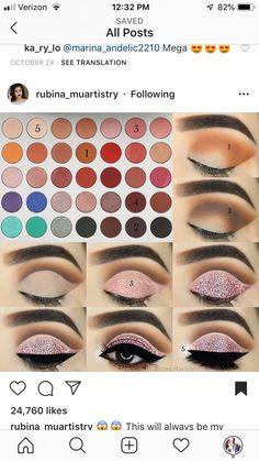 Pin von Sayra Jaimes auf Make-up im Jahr 2019 - Makeup Tutorial James Charles Makeup Morphe, Skin Makeup, Mac Makeup Looks, Make Up Designs, Makeup Pictorial, Eye Makeup Steps, Pinterest Makeup, Beautiful Eye Makeup, Makeup Essentials