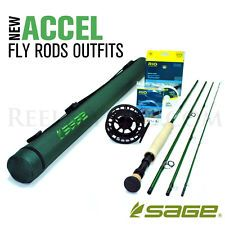 NEW - Sage Accel 896-4 Fly Rod Outfit - FREE SHIPPING!