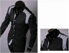 Men's Casual Checkered Detailed Shirt
