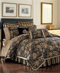 J Queen New York Valdosta Queen Comforter Set - Bedding Collections - Bed & Bath - Macy's