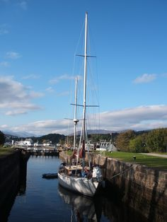 Fort Augustus, on the Caledonian Canal