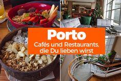 Portos Cafés und Restaurants sind einfach sehenswert. Wir stellen Dir hier unsere absoluten Favoriten vor. Komm mit auf eine Schlemmertour! Travel Around The World, Around The Worlds, Cafe Restaurant, Portugal, Road Trip, Beef, Restaurants, Food, Travelling