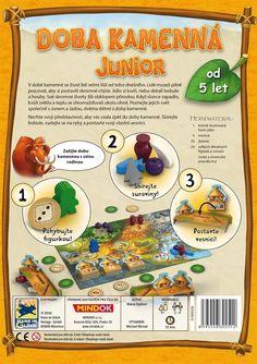 Doba kamenná - Junior - Deskové hry | Planeta Her