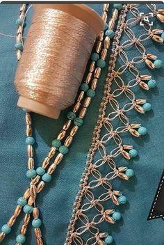 Most beautiful crochet tutorials, # of she # Is oyaörneklerigöst # Yazmakenarıo Crochet Lace Edging, Crochet Motifs, Hairpin Lace Crochet, Crochet Borders, Crochet Flower Patterns, Bead Crochet, Crochet Designs, Crochet Flowers, Crochet Stitches