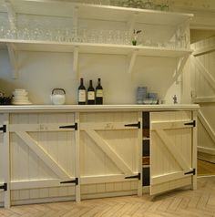 Buffet/Bar for the Lounge