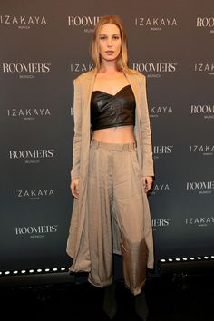 Sarah Brandner during the opening party of Roomers Munich & Izakaya #outfits