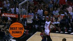 Best 100 Dunks: 2015 #NBA Season Check out the best 100 posterizing slams, alleyoops and other amazing #dunks from this past 2015 #NBA season