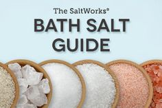 Making bath salts is easy with SaltWorks free therapeutic bath salt recipes Our recipes for making salt glows, bath bombs and bath teas are a wonderful way to experience the aromatherapy benefits of bath salts combined with essential oils Diy Beauté, Diy Spa, Diy Crafts, Bath Salts Recipe, Homemade Bath Salts, Diy Herbal Bath Salts, Diy Bath Salts With Essential Oils, Diy Unicorn, Bath Detox