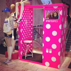 Victoria's Secret PINK Photo Booth