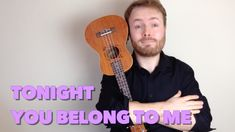 """A ukulele tutorial for Tonight You Belong To Me from the Steve Martin movie """"The Jerk"""" - the perfect song to learn for Valentine's Day! Support me on http://..."""