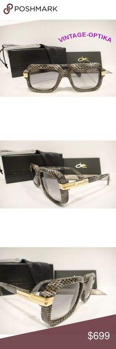 bc797ee9d41e Selling this CAZAL 607 3 Sunglasses SNAKESKIN Grey New in my Poshmark  closet! My username is  vintage optika.  shopmycloset  poshmark  fashion   shopping ...