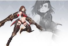 Rwby Characters, Female Characters, Anime Weapons, Manga, Painting Techniques, Cute Girls, Design Art, Character Design, Fan Art