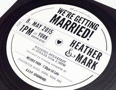 Tutustu tähän @Behance-projektiin: \u201cVinyl Record Wedding Invitation\u201d https://www.behance.net/gallery/25237299/Vinyl-Record-Wedding-Invitation