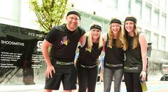 Shoosmiths supports Spinningfields sports day in aid of Wood Street Mission charity