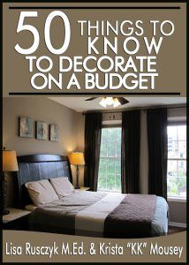 Decorate Your Home on a Budget #50TTK