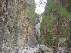 IJzeren poort Samaria kloof