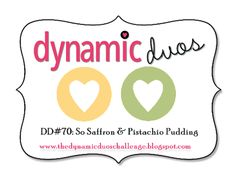 Dynamic Duos  !!! Bebe'!!! Great blog issues a color duo challenge each week to create a card, scrapbook page, or paper craft like a frame or a decoration for the holidays!!! Great creative blog challenge!!!
