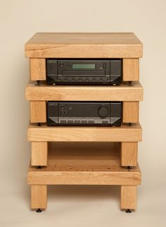 awesome home built hifi rack made of ikea lack coffee tables design pinterest lack coffee. Black Bedroom Furniture Sets. Home Design Ideas