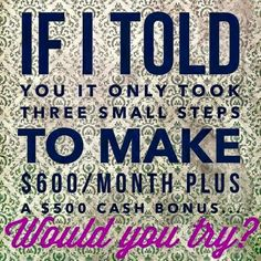 I am willing to work with anyone who would like to test the waters of being a distributor with It Works Global! We will spend the next 3 months working together to get your business up and running!! You can stop at any time if it is not for you! No risk and no commitment. Super small start up and potential million $$$ return! Contact me today!  ashleyscrazywrapthing@gmail.com   #changeyourlife #behomewithyourkids #beyourownboss #behappy