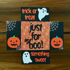 13 Things For Your Halloween Care Package That Aren't Candy! Diy Halloween Gifts, Halloween Gift Baskets, Halloween Treats For Kids, Theme Halloween, Fall Care Package, Care Package Decorating, Halloween Care Packages, Candy Bouquet Diy, Deployment Gifts