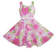 AX13 Girls Dress Floral 3 Layers Wedding Pageant Party Kids Size 7-8 Sunny Fashion,http://www.amazon.com/dp/B009YAYGOI/ref=cm_sw_r_pi_dp_Cj2wsb02BF03MK0P