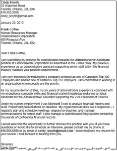 Employment application letter an application for employment job get your cover letter template four for free altavistaventures Image collections