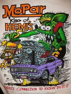 Ideas Old Cars Drawing Rat Fink - My list of the best classic cars Car Drawings, Cartoon Drawings, Cartoon Art, Ed Roth Art, Family Car Decals, Rat Fink, Garage Art, Best Classic Cars, Automotive Art
