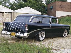 57 Chevy Nomad - If I ever did get a Chevy this'd be my choice.
