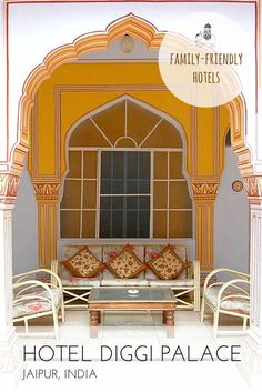 Family Hotel Review: Hotel Diggi Palace, Jaipur, Rajasthan, India Centrally located within a 200-year-old ancestral haveli is this delightful hotel that boasts one of Jaipur's prettiest gardens as well as being the setting for some of the city's most celebrated cultural events. Best For: Bookish types; kids of all ages.