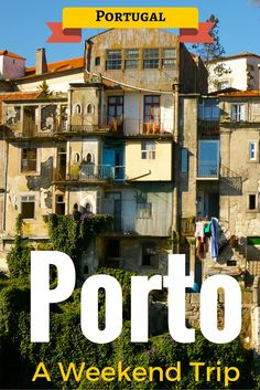 Porto is visually stunning and gastronomically satisfying. Dozens of Port wine cellars and cake shops around every corner might sound like a dangerous combination, but don't worry, it is so hilly that you'll be getting your workout without even knowing it!