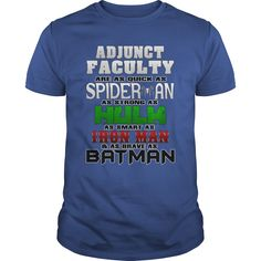 Adjunct Faculty T-Shirts, Hoodies. ADD TO CART ==► https://www.sunfrog.com/Jobs/Adjunct-Faculty-112031782-Royal-Blue-Guys.html?id=41382