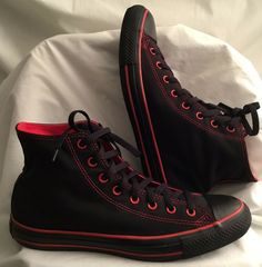 b6643647389b3d Details about Converse Chuck Taylor All Star Hi 1970s 70s Black Label First  String 162050C. Red Converse MensSport ...