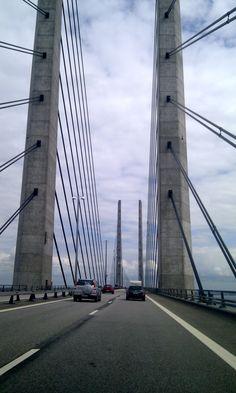 Øresund Bridge Denmark to Sweden