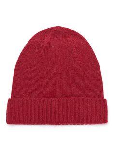 Indigo SELECTED Homme - Gestrickte Mütze - 100% Wolle - Rippstruktur am Abschluss - Warme Qualität 100% Wolle (Lamm)...