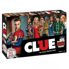 The Big Bang Theory Clue....someone needs to get me this for christmas!!!!!!!!!!  Not kidding, I will probably be like a 5 year old child if I open this on christmas day!!!