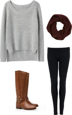 A fashion look from October 2012 featuring pullover sweater, sequin pants and riding boots. Browse and shop related looks. Pretty Outfits, Beautiful Outfits, Cute Outfits, Fall Winter Outfits, Autumn Winter Fashion, Cute Fall Fashion, Minimalist Fashion, Minimalist Style, Equestrian Chic