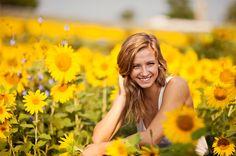 Summer Sunflowers | Versailles KY Senior Photographer » Emme Photography | Blog
