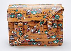 Owl Floral Print Satchel Bag  – STUNNING! NEW TO US! BUT NOW LIMITED STOCK!