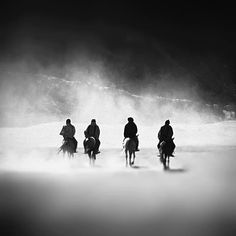 Not sure where these guys are, but what a trenemendous image: Four Horsemen - The Apocalypse by Hengki24.deviantart.com on @DeviantArt