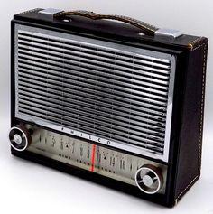 Radio Design, Transistor Radio, Marshall Speaker, Dorm Room, Leather Case, 1960s, Home Appliances, Coding, Retro