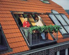 Bildergebnis für dachbalkon gaube