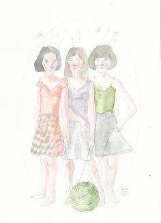 ( Watercolor Print  V )    17x23 cm     20€