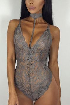 Getting back to basics never looked so good with this sexy lace fabric, halter neck and sleeveless bodysuit. Features a stretchy, body-contouring fit perfect for date out or pairing with your favorite skirt or pants + hitting the town!