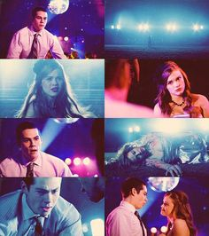 Lydia, I've had a crush on you since the third grade, and I know that somewhere inside that cold, lifeless exterior, there's an actual human soul. And I'm also pretty sure that I'm the only one who knows how smart you really are. Stiles And Lydia, Teen Wolf Stiles, Stydia Kiss, Alison Argent, Teen Wolf Mtv, Lydia Martin, All Hero, Human Soul, Dylan O'brien